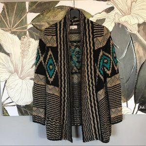 Southwestern Flair Cardigan Sweater